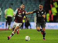 Football - 2019 / 2020 EFL Carabao (League) Cup - Semi-Final, Second Leg: Aston Villa (1) vs. Leicester City (1)<br /> <br /> Douglas Luiz of Villa and Youri Tielemans of Leicester, at Villa Park.<br /> <br /> COLORSPORT/ANDREW COWIE