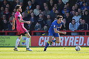 AFC Wimbledon defender Will Nightingale (5) clearing the ball during the EFL Sky Bet League 1 match between AFC Wimbledon and Southend United at the Cherry Red Records Stadium, Kingston, England on 25 March 2017. Photo by Matthew Redman.
