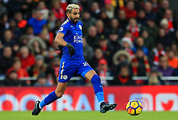 Riyad Mahrez of Leicester City - Mandatory by-line: Matt McNulty/JMP - 30/12/2017 - FOOTBALL - Anfield - Liverpool, England - Liverpool v Leicester City - Premier League