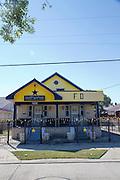 Rock'n'roll legend Fats Domino's (Antoine Dominique Domino) house. New Orleans, LA, USA