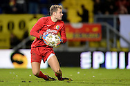 Onderwerp/Subject: RKC Waalwijk - Eredivisie<br /> Reklame:  <br /> Club/Team/Country: <br /> Seizoen/Season: 2012/2013<br /> FOTO/PHOTO: Goalkeeper Jeroen ZOET of RKC Waalwijk. (Photo by PICS UNITED)<br /> <br /> Trefwoorden/Keywords: <br /> #00 $94 ±1342772543138<br /> Photo- & Copyrights © PICS UNITED <br /> P.O. Box 7164 - 5605 BE  EINDHOVEN (THE NETHERLANDS) <br /> Phone +31 (0)40 296 28 00 <br /> Fax +31 (0) 40 248 47 43 <br /> http://www.pics-united.com <br /> e-mail : sales@pics-united.com (If you would like to raise any issues regarding any aspects of products / service of PICS UNITED) or <br /> e-mail : sales@pics-united.com   <br /> <br /> ATTENTIE: <br /> Publicatie ook bij aanbieding door derden is slechts toegestaan na verkregen toestemming van Pics United. <br /> VOLLEDIGE NAAMSVERMELDING IS VERPLICHT! (© PICS UNITED/Naam Fotograaf, zie veld 4 van de bestandsinfo 'credits') <br /> ATTENTION:  <br /> © Pics United. Reproduction/publication of this photo by any parties is only permitted after authorisation is sought and obtained from  PICS UNITED- THE NETHERLANDS