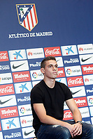 Atletico de Madrid's new player Santos Borre during his official presentation. July 14, 2016. (ALTERPHOTOS/Acero)