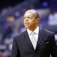 19 June 2014: Tulsa Shock head coach Fred Williams is seen during the Los Angeles Sparks 87-77 victory over the Tulsa Shock, at the Staples Center, Los Angeles, California, USA.
