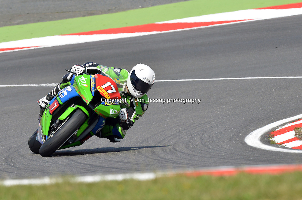 #17 Dominic Usher G&S Racing Kawasaki Superstock 1000