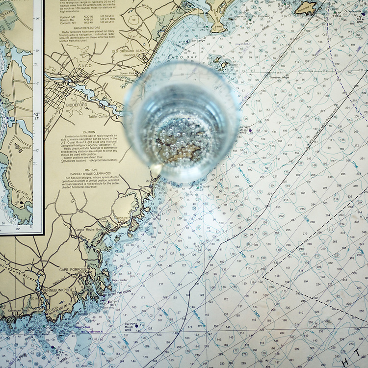 Water on The Map, Biddeford Pool, Maine, 2009