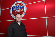 Michael Patt at his Dayton Mixed Martial Arts Academy in Beavercreek, Monday, May 7, 2012.