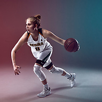 Macaela Crone of the Regina Cougars Women's Basketball Team.