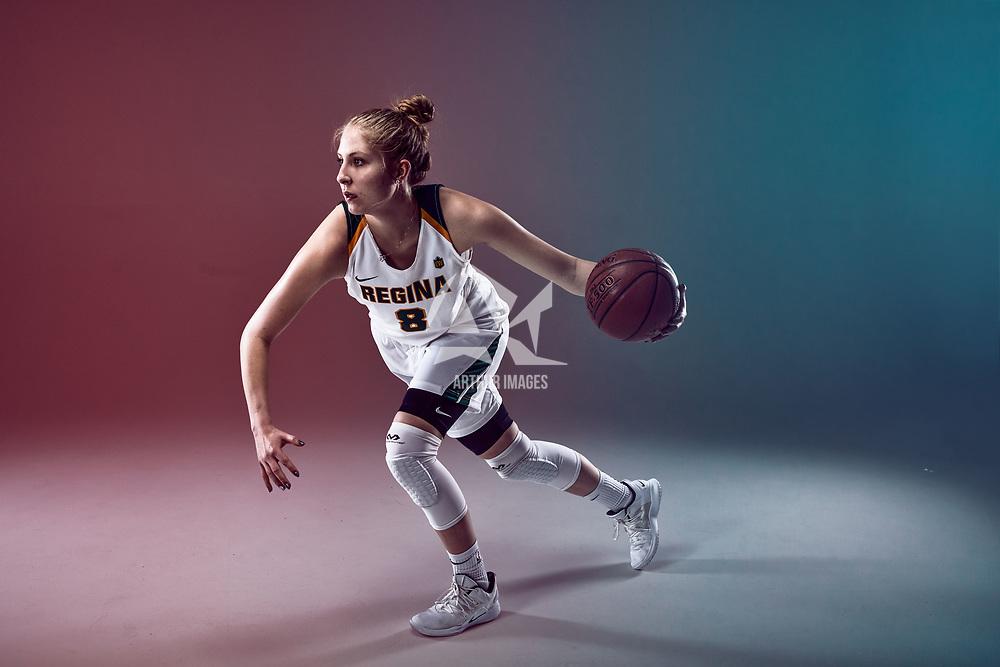 Macaela Crone of the Regina Cougars Women's Basketball Team.