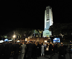 Wellington-ANZAC Day Dawn Service at Pukeahu Memorial Park