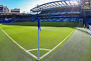 A general view inside Stamford Bridge Stadium during the Premier League match between Chelsea and Liverpool at Stamford Bridge, London, England on 29 September 2018.