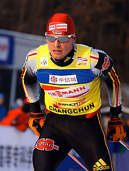 CHANGCHUN, CHINA - SUNDAY, FEBRUARY 25th, 2007: Angerer Tobias of Germany competes to win the men's 15 km sprint race at the 2007 FIS World Cup cross-country skiing event. (Pic by Osports/Propaganda)