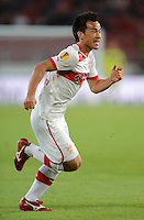 FUSSBALL   EUROPA LEAGUE   SAISON 2012/2013   20.09.2012 VfB Stuttgart - FC Steaua Bukarest Shinji Okazaki (VfB Stuttgart)