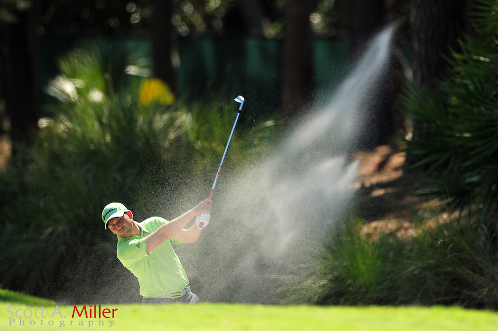 Sergio Garcia during the second round of the Players Championship at the TPC Sawgrass on May 11, 2012 in Ponte Vedra, Fla. ..©2012 Scott A. Miller..