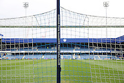 Behind the goal at Loftus Road during the Sky Bet Championship match between Queens Park Rangers and Birmingham City at the Loftus Road Stadium, London, England on 27 February 2016. Photo by Matthew Redman.
