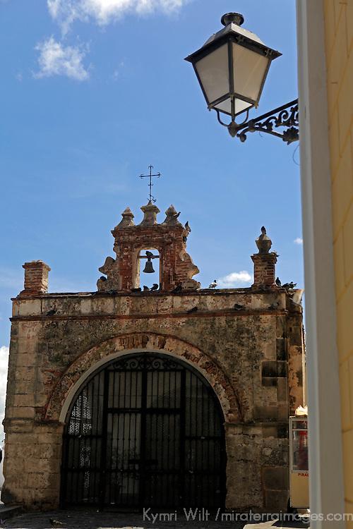 USA, Puerto Rico, San Juan. Bell of San Juan, Puerto Rico.
