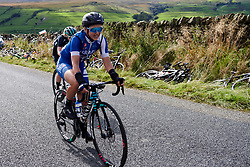 Rotem Gafinovitz (ISR) on the Lofthouse climb at UCI Road World Championships 2019 Women's Elite Road Race a 149.4 km road race from Bradford to Harrogate, United Kingdom on September 28, 2019. Photo by Sean Robinson/velofocus.com