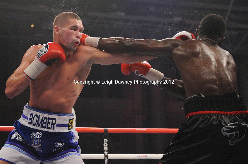 Tony Bellew defeats Edison Miranda in 12x3 bout to claim International Light Heavyweight Title at Alexandra Palace, Muswell Hill, North London on Saturday 8th September 2012. Matchroom Sport. Pictures © Leigh Dawney Photography 2012.