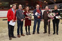 Prizegiving BWP Ambassadeurs, Eldorado vh Vijverhof, Jef Houtmeyers, Daniel Demartin<br /> Hengstenkeuring BWP - Lier 2018<br /> © Hippo Foto - Dirk Caremans<br /> 20/01/2018
