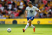 Tranmere Rovers defender Liam Ridehalgh (3) during the EFL Sky Bet League 2 Play Off Final match between Newport County and Tranmere Rovers at Wembley Stadium, London, England on 25 May 2019.