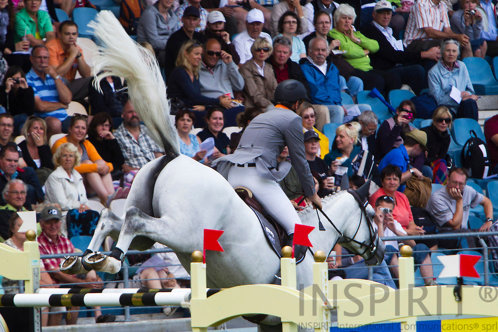 AACHEN -- GERMANY - 17 JULY 2010 - World Equestrian Festival, CHIO Aachen 2010. PHOTO: ERIK LUNTANG / INSPIRIT Photo