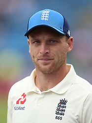 England's Jos Buttler during day three of the Second NatWest Test match at Headingley, Leeds. PRESS ASSOCIATION Photo. Picture date: Sunday June 3, 2018. See PA story CRICKET England. Photo credit should read: Nigel French/PA Wire. RESTRICTIONS: Editorial use only. No commercial use without prior written consent of the ECB. Still image use only. No moving images to emulate broadcast. No removing or obscuring of sponsor logos.