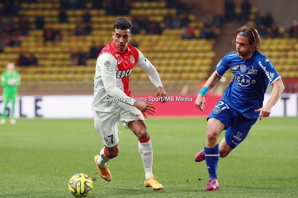 DIRAR NABIL / GILLET GUILLAUME  - 13.03.2015 -   Monaco / Bastia -  29eme journee de Ligue 1 <br />