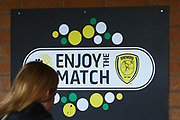 Burton Albion enjoy the match sign during the EFL Sky Bet League 1 match between Burton Albion and Walsall at the Pirelli Stadium, Burton upon Trent, England on 2 March 2019.