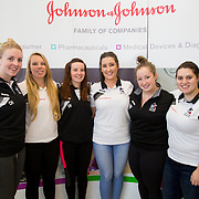 13.09.17.            <br /> Global healthcare company, Johnson &amp; Johnson (J&amp;J) and University of Limerick (UL) have begun Year 2 their collaborative STEM education programme known as WiSTEM2D. The programme is designed to encourage female students to study science, technology, engineering and mathematics. Pictured at a university event to highlight student research findings from Year 1 of the programme were, Caoimhe Hennigan, Laura Fitzgerald, Shola Koschan, Niamh McCormack, Kristin Delcellier and Vitoria Seabra. Picture: Alan Place