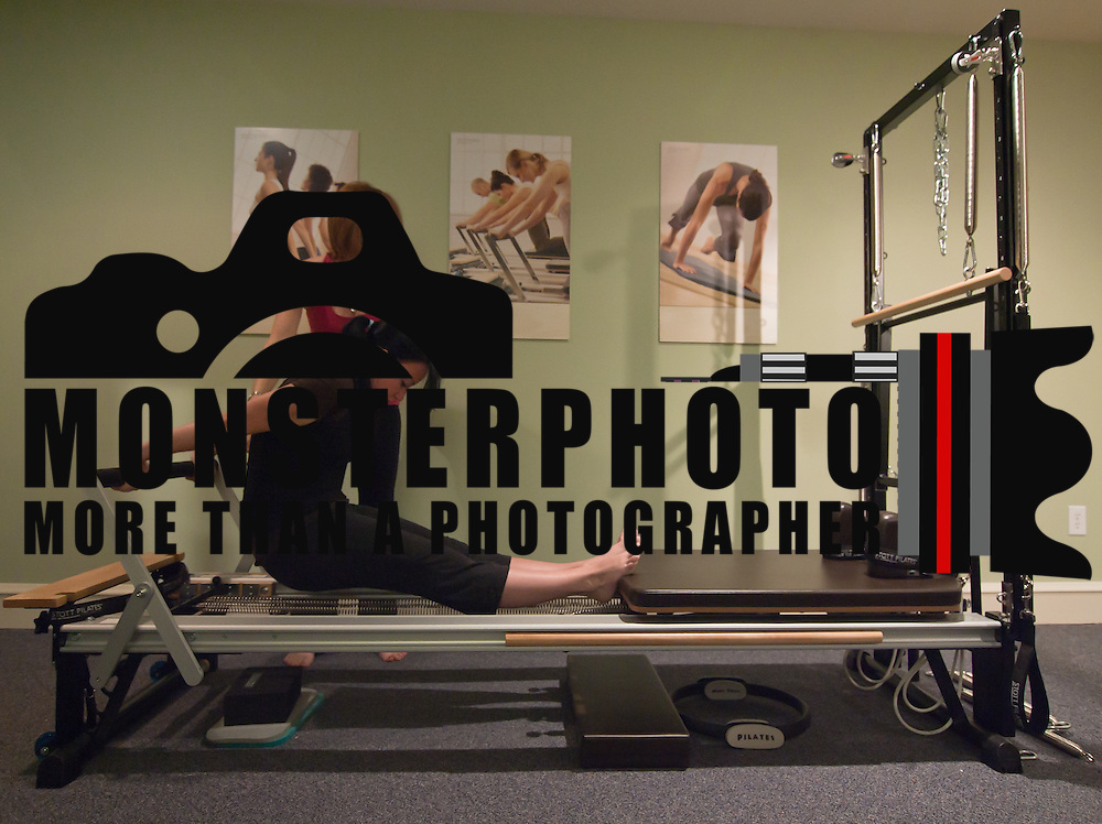051011 Wilmington DE: 051011-24dh.get.fit-SS. Sarah Davis taking a private Plates session with Wilmington Pilates instructor Patti McKelvey, which she does about 3 times a week..Special to The News Journal/SAQUAN STIMPSON..Pilates instructor Patti McKelvey.http://wwww.pilates.com.