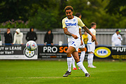 Leeds United Helder Costa (17) warming up during the Pre-Season Friendly match between Tadcaster Albion and Leeds United at i2i Stadium, Tadcaster, United Kingdom on 17 July 2019.