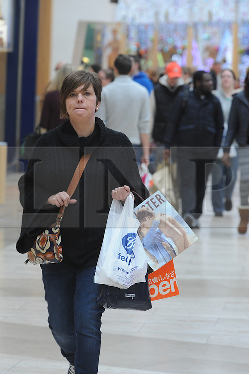 &copy; Licensed to London News Pictures. 07/12/2013<br /> Bluewater Christmas Shopping.<br /> Christmas shoppers at Bluewater in Greenhithe, Kent today (07.12.2013) on the first Saturday in December.<br /> Photo credit :Grant Falvey/LNP
