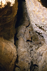 Rock formations inside Wind Cave, Wind Cave National Park, South Dakota, United States of America