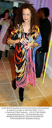 LEAH WOOD daughter of former Rolling Stone Ronnie Wood at a party in London on 28th April 2004.PTO 11