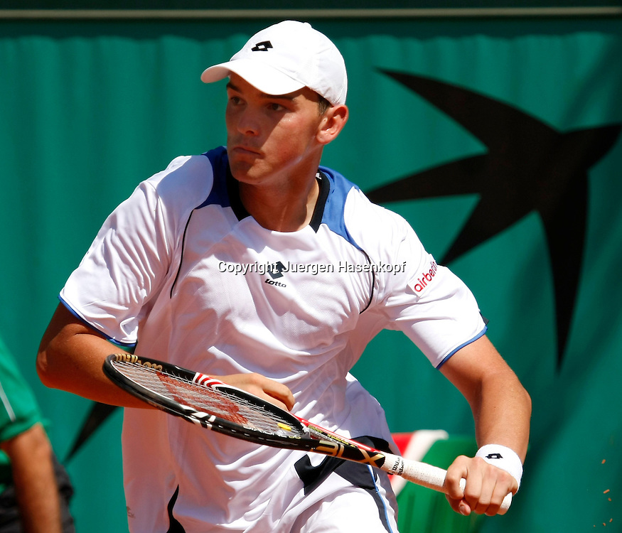 French Open 2010, Roland Garros, Paris, Frankreich,Sport, Tennis, ITF Grand Slam Tournament, ..Andreas Beck (GER) ....Foto: Juergen Hasenkopf..