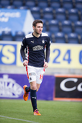 Falkirk's Luke Leahy. <br /> Falkirk 2 v 1 Brechin City, Scottish Cup fifth round game played today at The Falkirk Stadium.