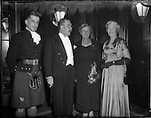 1956 - Reception by Dr. Hermann Katzenberger for the Irish-German Society at the Gresham Hotel