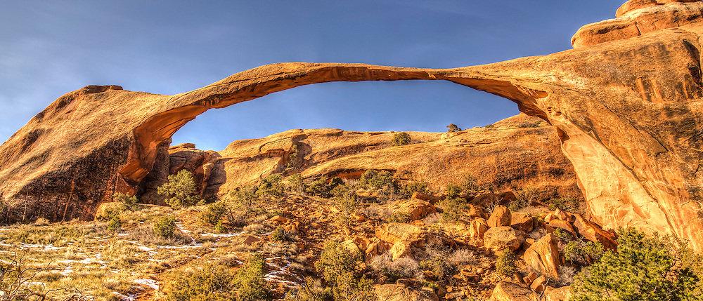 Landscape Arch Arches National Park Utah