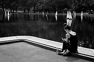 The Sailboat Pond in Central Park