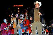 The Asylum Street Spankers perform on New Year's Eve in Austin Texas as part of the First Night 2009 celebration, December 31, 2008. First Night is an annual celebration of the arts  held on New Year's Eve in Austin Texas.