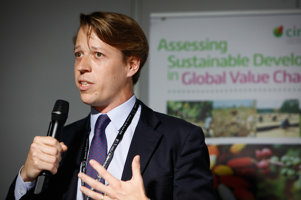 20160615 - Brussels , Belgium - 2016 June 15th - European Development Days - Assessing sustainable development in global value chains - Clement Chenost , Investment manager and technical director , Moringa Fund Private Equity for Sustainable Agroforestry © European Union