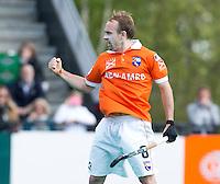 ROTTERDAM -HOCKEY - Bloemendaal speler Matthew Swann  tijdens de play off hockeywedstrijd tussen de mannen van Rotterdam en Bloemendaal (1-1, R'dam wint na shoot out). FOTO KOEN SUYK