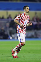 ZAGREB, CROATIA - NOVEMBER 09: Nikola Kalinic of Croatia runs during the FIFA 2018 World Cup Qualifier play-off first leg match between Croatia and Greece at Maksimir Stadium on November 9, 2017 in Zagreb, Croatia. (Luka Stanzl/PIXSELL)