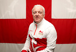 Team England's National Coach mentor Tony Hadley poses for a photo during the kitting out session at Kukri Sports HQ, Preston.