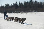Photographs of John Baker's 2011 Iditarod run. Outside of the Anvik checkpoint. Stephen Nowers/Alaska Dispatch