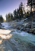Chilnualna Creek, Yosemite Waterfall, Cascades, Creek, Stream, Yosemite, Yosemite National Park, California