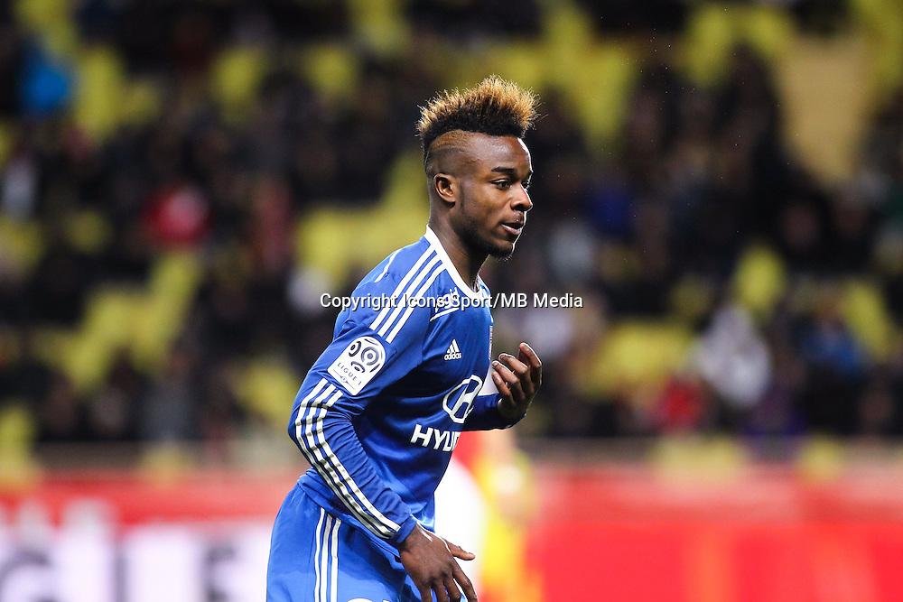 Maxwell Cornet - 01.02.2015 - Monaco / Lyon - 23eme journee de Ligue 1 -<br /> Photo : Serge Haouzi / Icon Sport