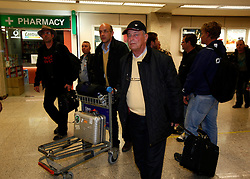 German civilians arrive from Tripoli at Malta International Airport outside Valletta late February 22, 2011. Two German Luftwaffe C-160 Transall transport planes landed in Malta late Tuesday evening evacuating sixty German civilians from Libya, sources said..Photo by Darrin Zammit Lupi