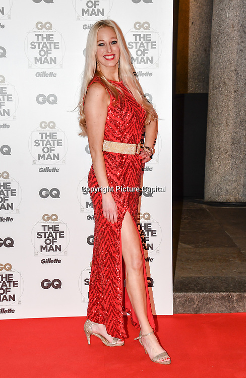 Hayley Palmer Arrivers at GQ 30th Anniversary celebration at Sushisamba, The Market, Convent Garden on 29 October 2018.