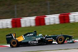 Motorsports / Formula 1: World Championship 2011, Testing in Barcelona, test, 21 Heikki Kovalainen (FIN, Lotus F1 Racing),