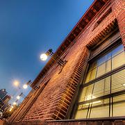 Side of the Kansas City Star building at 18th and Grand Avenue, Kansas City, Missouri.